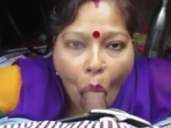 Tamil aunty giving bj and deepthroat with audio