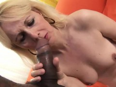 Mature looker Konko pleasures a BBC