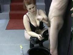 Looks like this mistress wants a jar complete of cum
