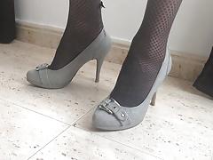 Grey Pumps...