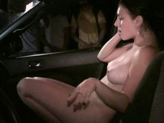 18-19 y.o. kitten in public team fuck thru the car window with anonymous strangers gang bang Part 4 AWESOME