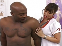 Sizeable titted Sexually available mom is the best nurse around