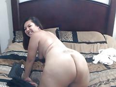 Hot Girl Masturbating On Webcam
