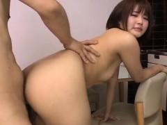 Naked wife Saya hardcore sex in POV