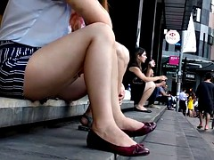 Bare Candid Legs - BCL#194