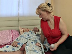 In den arsch, Grosse titten, Blondine, Oma, Reif