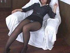 Asiatic Pantyhose Upskirt