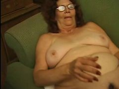 Granny In Glasses Strips And moreover Plays