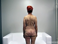 Mature Redhead Takes Cock At The Casting