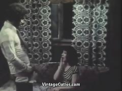 Pretty Babe Sucks and Fucks (1970s Vintage)