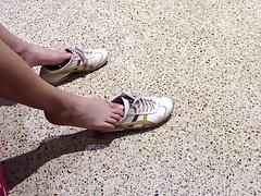 Shoe Play at the Bank