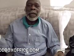 Black grandpa dick suck by my ex girlfriend and daughter