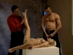 Anal Blonde And moreover A Rope