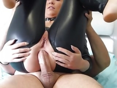 Anal, Noire, Latex, Pute