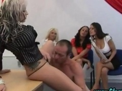 Huge titted blonde gets what she wants & gives something back