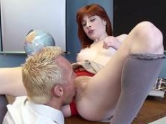 redhead 18-19 year old sadie kennedy gets banged feature