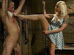 Mistress Lorelei Lee dominates