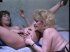 A pair of Mature Grandmas Do Truly Slutty Things In Their Prison Cell