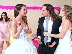 18 jahre, Amerikanisch, Braut, Lingerie, Reiten, Jungendliche (18+), Flotter dreier, Hochzeit