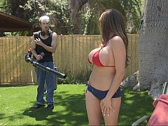 Gros seins, Bikini, Plantureuse, Mère que j'aimerais baiser, De plein air, Nénés
