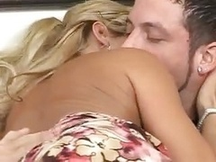 Hot Blonde Sexually available mom Gets A Mouthful