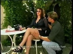Milf Gets down and dirty Outdoor