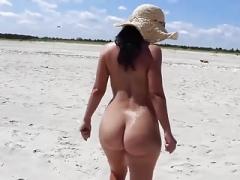Пляж, Нудисты