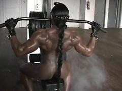 striptease bodibildershi