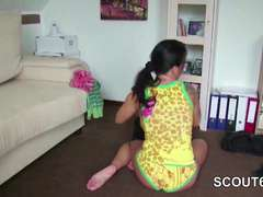 Private SexTapes of German Stepmom who Tempt Him to Pound