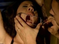 Sexy chick being punished and rectal fucked