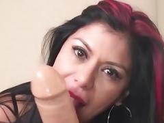 MexiMilf Gaby Quinteros Stuffs Her Juicy Hole Until She Cums!
