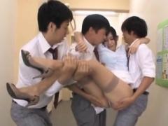 Asiatique, Sucer une bite, Collège université, Japonaise