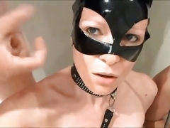 Cumshot on face Latex Mask