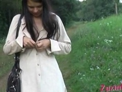 Remote controlled pussy outdoor