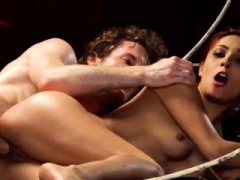 Extreme backdoor toys bdsm xxx starts romping her lil' beaver