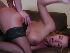 Danica Dillon eats cum