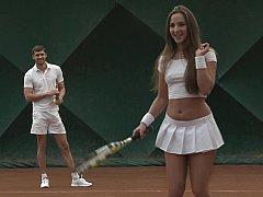 Tennis hottie