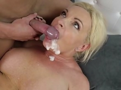Mind-boggling Grown-up Rides Immature Stud's Cock and additionally Eats Gooey Load