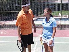 Tennis seduction