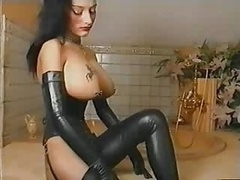 Hot Leather Fetish Whore