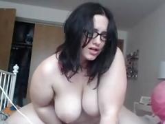 Mooie dikke vrouwen, Masturbatie, Alleen