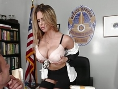 Européenne, Hongroise, Police, Actrice du porno