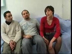 French 18-19 y.o. Daisy Gang-fucked