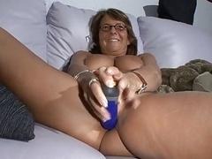 Huge tit granny single