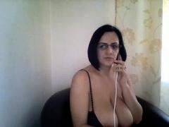 non-professional ginetta 21 flashing bra buddies on live web camera