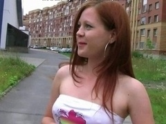18 ans, Voiture, Rousse roux, Ados anal