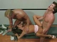 backdoor training for brunette BB