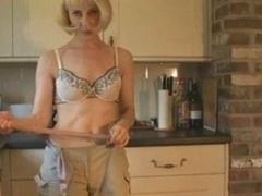 Hazel May In Kitchen