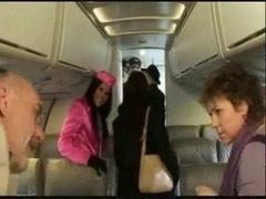 Stewardess Madison Parker...