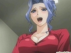Busty hentai nurse hard fucked by transexual doctor anime